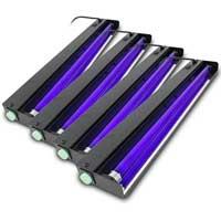 QTX Light UV Light Bar - 60cm Tube, Set of 4