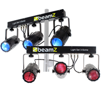 BeamZ 3-Some Moonflower LED Light Bar, Set of 2