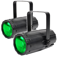 BeamZ Moonflower LED Disco Party Lights, Pair