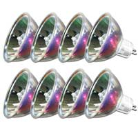 8x Halogen Replacement Disco Bulbs 24V 250W