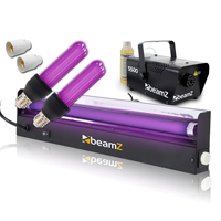 BeamZ S500 Smoke Machine with Fluid and UV Lights