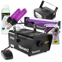 BeamZ S700 Smoke Machine with Fluid and UV Lights