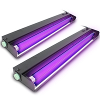 2x BeamZ UV Tube Lights 60cm