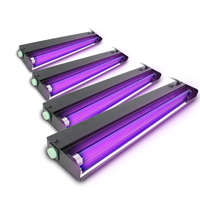 BeamZ UV Tube Lights 600mm, Set of 4