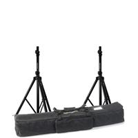 Vonyx Speaker Stand Height Adjustable Pair & Soft Case