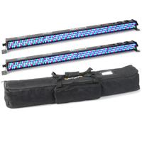 BeamZ LCB-252 LED Light Bar 1m Pair & Soft Case