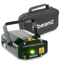 BeamZ Apollo Disco Laser Light & Soft Case