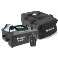 BeamZ S2000 Vertical Smoke Machine with LED Lights & Soft Case