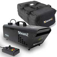 Beamz F1500 DMX Haze Machine + Bag + Remote Control 1500W