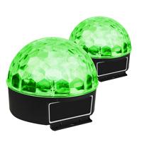 Max Magic Jelly Ball LED Disco Ball Light Pair