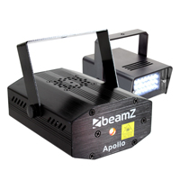 Beamz LED Strobe Light + Beamz Red and Green Laser Light