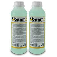 2x BeamZ ECO Light Green 250ml Smoke Fluid