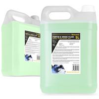 2x BeamZ 5L Eco Green Smoke Fluid