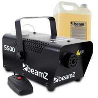 BeamZ S500 Smoke Machine & 5L Fluid