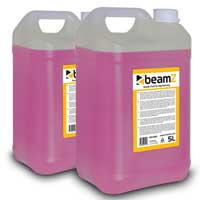 2x BeamZ 5L High Quality Pink Smoke Fluid