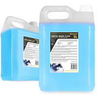 2x BeamZ 5L High Density Blue Smoke Fluid