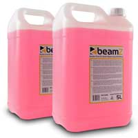 2x BeamZ 5L Quick Dispersion Pink Smoke Fluid