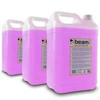 BeamZ 5L High Density Purple Haze Fluid, Set of 3