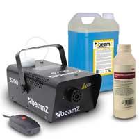 BeamZ S700 Smoke Machine, 5L High Density Smoke Fluid & Cleaner