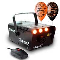 Smoke Fog Mist Effect Machine, Fire Flame FX Light|Halloween House Party HPK4