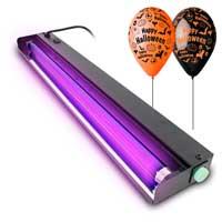 BeamZ UV Light Bar - 60cm Tube & Halloween Balloon