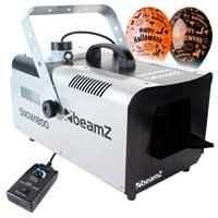 BeamZ SNOW1800 Snow Machine & Halloween Balloon
