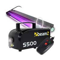 BeamZ S-500 Smoke Machine with UV Tube Light