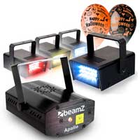 Halloween Party Light Kit - Strobe & Laser Light