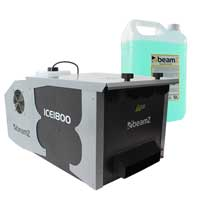 BeamZ ICE1800 Low Fog Machine with 5L Smoke Fluid
