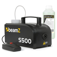 BeamZ S-500 Smoke Machine with 1L Fluid