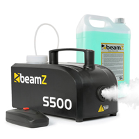 BeamZ S-500 Smoke Machine & 5L Fluid