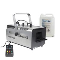 BeamZ SNOW1800 Snow Machine & 5L Fluid