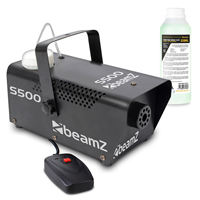BeamZ S500 Smoke Machine with 500ml Fluid
