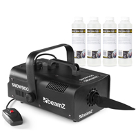 Beamz SNOW900 with 1L Concentrated Fluid