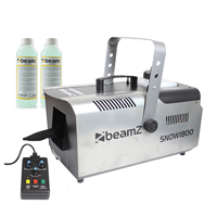 Beamz SNOW1800 with 500ml Concentrated Fluid