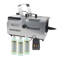 Beamz SNOW1800 with 750ml Concentrated Fluid