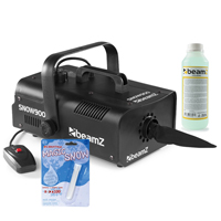 Beamz SNOW900 with 250ml Concentrated Fluid and Fake Snow