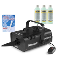 Beamz SNOW900 with 750ml Concentrated Fluid and Fake Snow