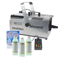 Beamz SNOW1800 with 750ml Concentrated Fluid and Fake Snow
