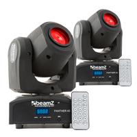 BeamZ Panther40 LED Moving Head Light Pair