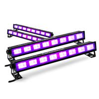 BeamZ BUV93 UV Light Bars, Set of 4