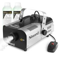 BeamZ S900 Smoke Machine & 250ml Fluid Pair