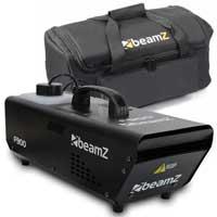 Beamz 900W High Output Haze Machine Stage Mist Effect DJ FREE Carry Bag UK Stock