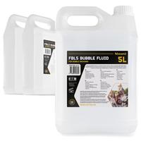 BeamZ Premium Bubble Machine Fluid (3x5L) Liquid Solution DJ Disco Party