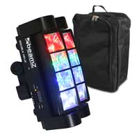 BeamZ MHL820 Double Helix LED Light & Gear Sack