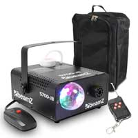 Beamz 160.420 S700JB Smoke Machine with Jelly Ball Light 700W & Gear Sack
