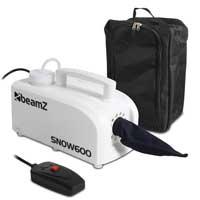 BeamZ SNOW600 Snow Machine & Gear Sack