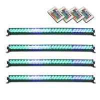 BeamZ LCB-252 LED Light Bar 1m, Set of 4