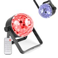 BeamZ PLS35 LED Disco Ball Party Lights Pair