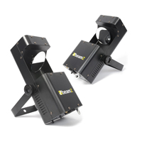 BeamZ Wildflower LED GOBO Scanner Light Pair